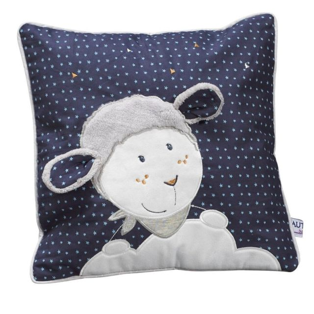 Sauthon Coussin décoratif Mouton Merlin