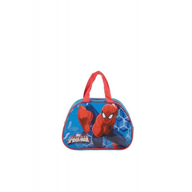Spiderman - Sac 23x15x7,5cm Licence Disney Bleu et rouge