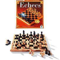 Schmidt Spiele Gmbh - Schmidt And Spiele Jeu de société - Echecs bois tradition