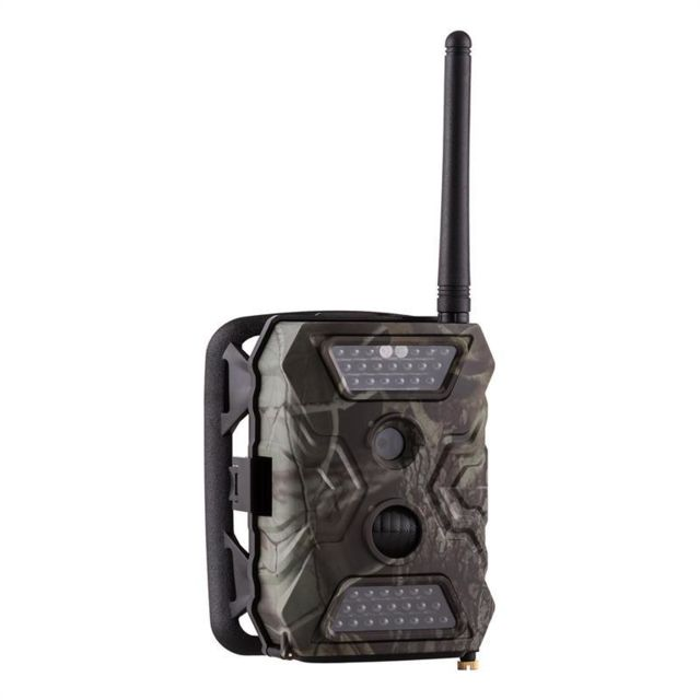 DURAMAXX GRIZZLY Mini caméra embarquée GSM 40 LEDs 12 MP Full HD
