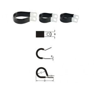 bihr serre cable inox caoutchouc fin diam19 1mm 10pcs pas cher achat vente leviers. Black Bedroom Furniture Sets. Home Design Ideas