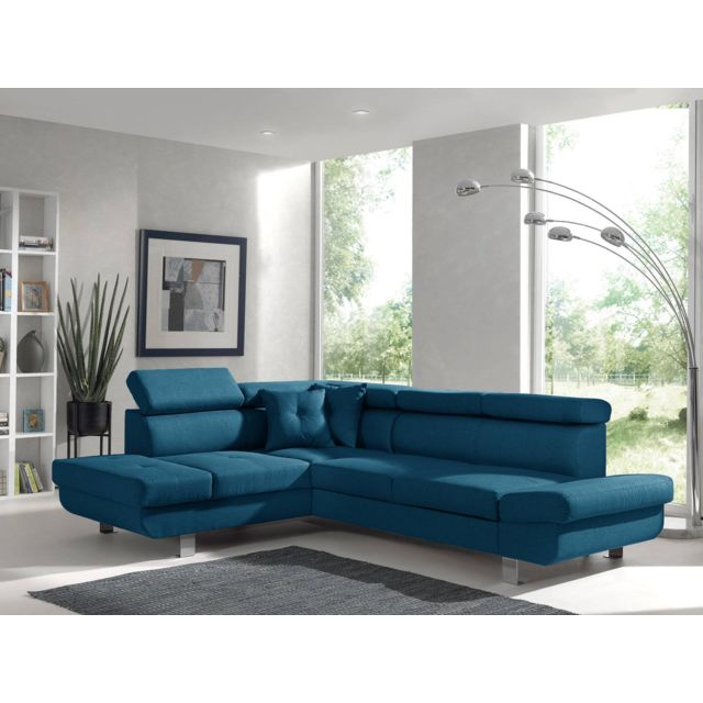 bestmobilier lisbona canap d 39 angle gauche convertible. Black Bedroom Furniture Sets. Home Design Ideas