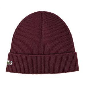 lacoste homme bonnet revers en laine vendange rb3502 pas cher achat vente casquettes. Black Bedroom Furniture Sets. Home Design Ideas