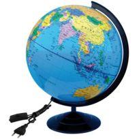 Safetool - globe lumineux physique + politique d30