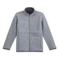 Tbs - Kepzyp Gris Veste - Manteau Femme Vêtements