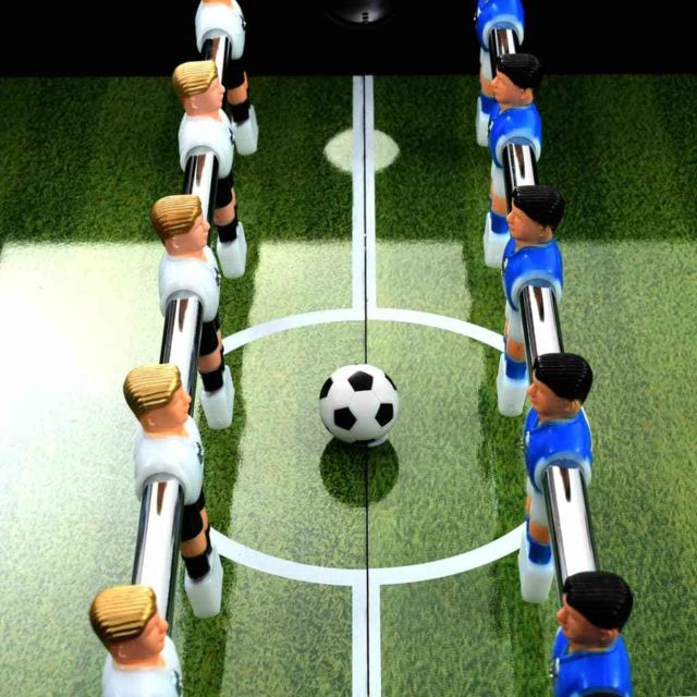 Icaverne - Tables de baby-foot edition Table de football Acier 60 kg 140 x 74,5 x 87,5 cm Noir