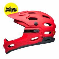 Bell - Casque Super 3R Mips rouge mat