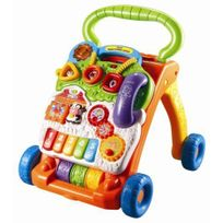 VTECH BABY - Super trotteur parlant 2 en 1 - Orange - 77005