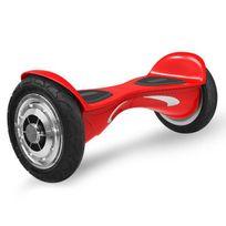 Hoverboard 4x4 Nova Rouge ? Bluetooth Musique - 10 Pouces
