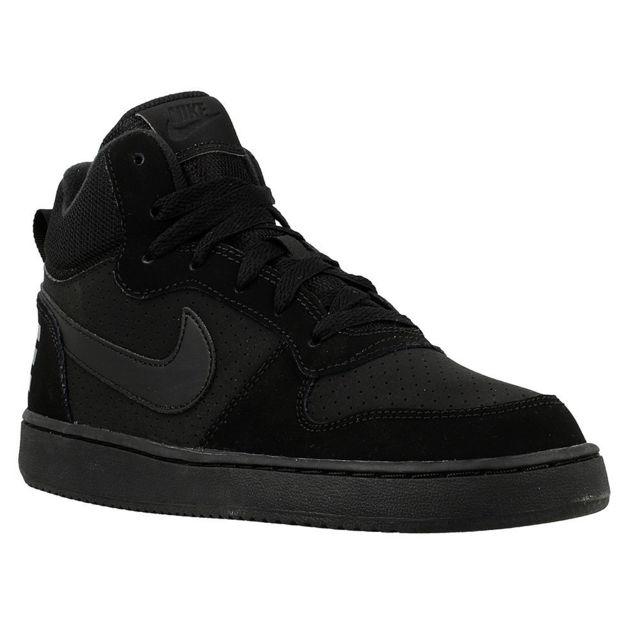 25fc03492f915 Nike - Court Borough Mid Gs - pas cher Achat   Vente Chaussures basket -  RueDuCommerce