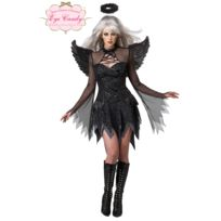 California costume - Déguisement d'Ange déchu - femme