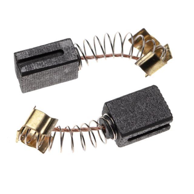 charbons pour moteur /électrique 6,5mm x 13,5mm x 16mm pour outil /électrique Makita HR 5001 C vhbw 2x balai de charbon