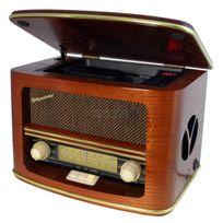 ROADSTAR - HRA-1500MP - RADIO STEREO DESIGN RETRO VINTAGE MP3 AVEC CD