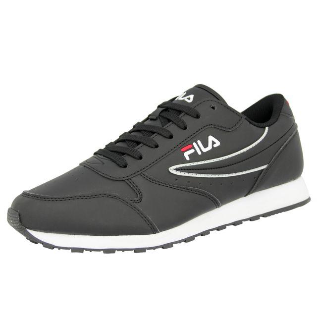 fcd386b77aa Fila - Orbit Low Chaussures Mode Sneakers Homme Noir 46 - pas cher ...