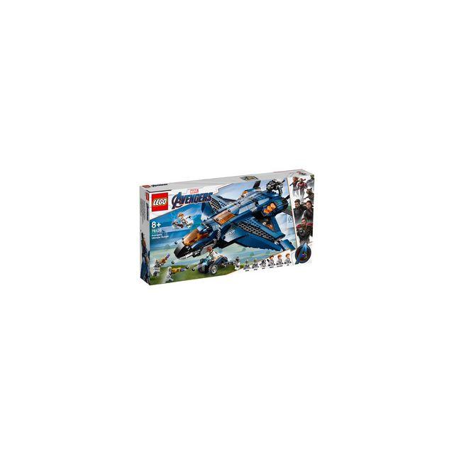 Lego 76126-® Marvel Avengers Le Quinjet des Avengers