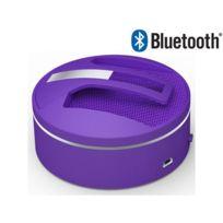 Nesx - Enceinte Nomade - Bluetooth - 3W - Micro USB - Microphone - Violet - NE-680V