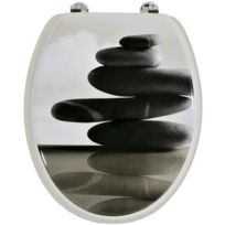 lunette de toilette sans fixation achat lunette de toilette sans fixation pas cher soldes. Black Bedroom Furniture Sets. Home Design Ideas