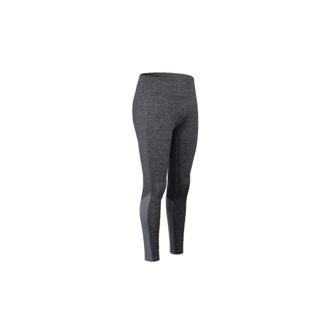 >YP Select Pantalon de yoga pour femmes élastique bande réfléchissante nuit courir leggings à séchage rapide - Gris S