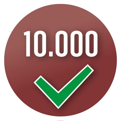 Machine testé plus de 10 000 fois afin de garantir une qualité constante