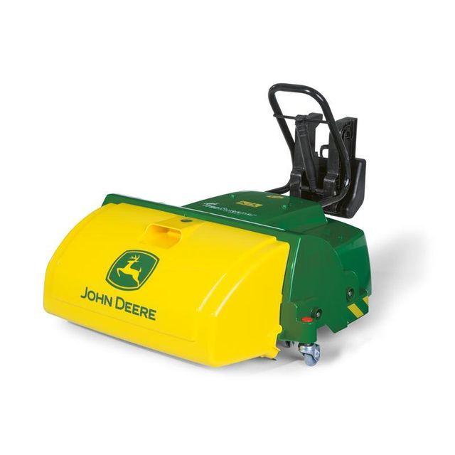 a78cd44847fb89 Rolly Toys - 409716 RollyTrac Sweeper - Balayeuse fonctionnelle John Deere  - pas cher Achat   Vente Véhicule à pédales - RueDuCommerce