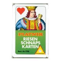 Piatnik - 1798 Riesenschnapskarten Franz 24 Feuilles