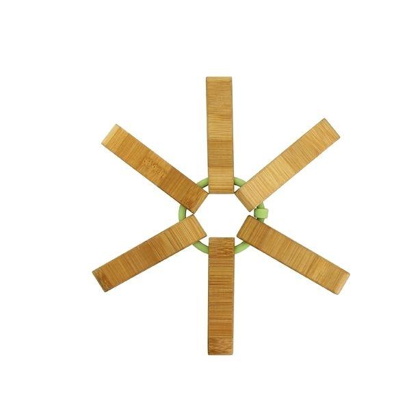 Lebrun Dessout plat bambou silicone