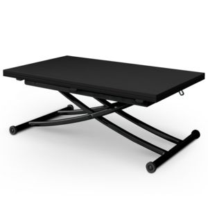 Menzzo table basse relevable carrera pas cher achat Table basse relevable carrera