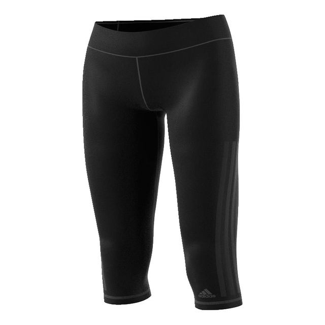 Adidas - Collant corsaire Workout 3S noir mujer - pas cher Achat ... b146a54daadd