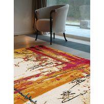 UN AMOUR DE TAPIS - Tapis SOLEIL Multicolore Tapis Moderne 80 x 150 cm Multicolore 80 x 150 cm