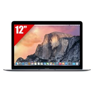 APPLE - MacBook 12'' Gris Sidéral 512 Go MJY42F/A