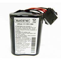 Visonic - Bat Mcs - Pile pour sirènes d'alarme Mcs-710, Mcs-720 et Mcs-730