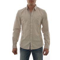 Guess jeans - Chemise ls peached shirt gris Xxl