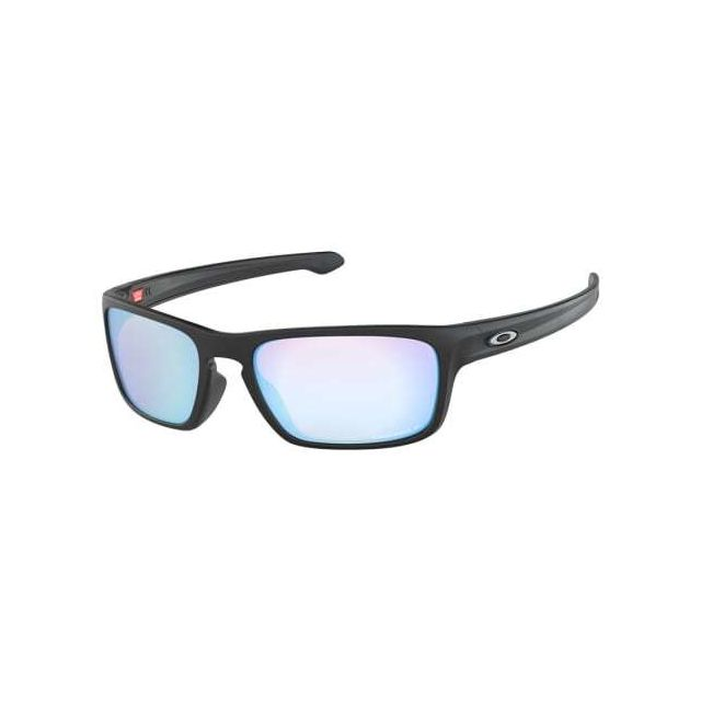 8877f359326f9 Oakley - Lunettes Oakley Sliver Stealth Matte Black avec verres Prizm Deep  Water Polarized