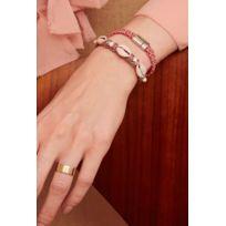 Hipanema - Bracelet Choker Ciloo, Pink