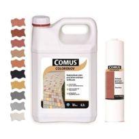 Comus - Colorenov B+D Oxyde Rouge 4,3L - Minéralisant coloré destiné à la rénovation des bétons vieillissants