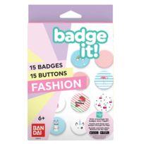 BADGE IT! - Recharge Fashion pour machine à badges - 35411