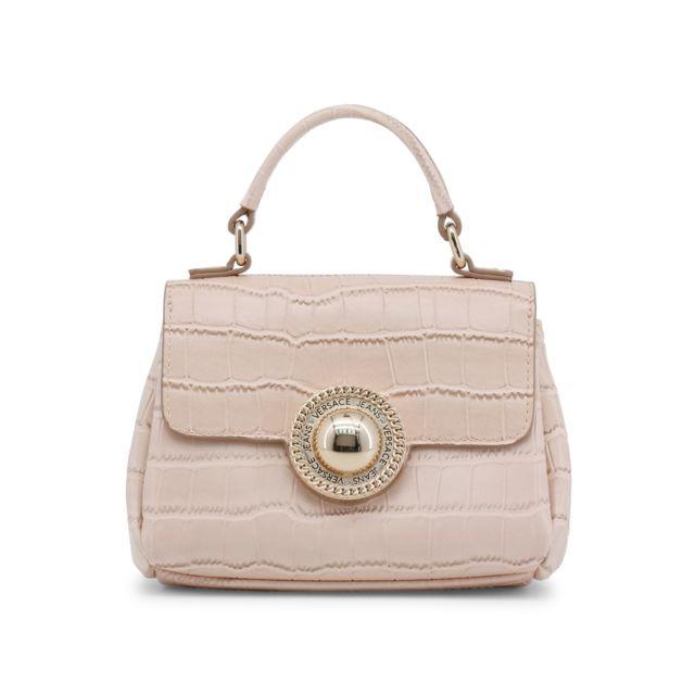 Buzzao - Petit sac femme nude effet croco - Versace Jeans Rose - pas ... bc4561c3af3b