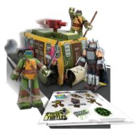 Toy Zany - Les Tortues ninja - Set Papercraft Shellraiser Vehicle Pack