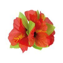 Boland - Epingle à cheveux fleur hawaienne Rouge