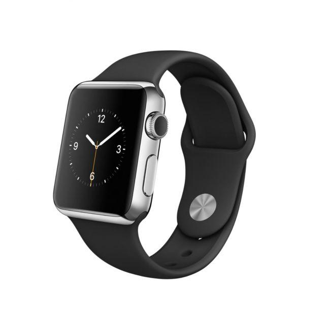 APPLE - Montre watch sport bracelet noir 38mm