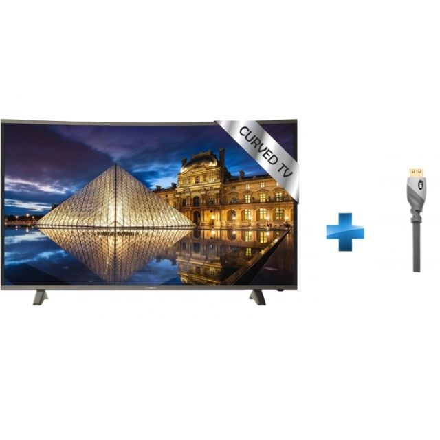 polaroid tv led 49 39 39 trc49uhdp c ble hdmi advanced high speed gold pas cher achat. Black Bedroom Furniture Sets. Home Design Ideas