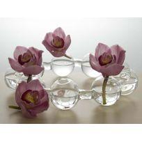Serax - Vase verre couronne 9 soliflores - Farandole