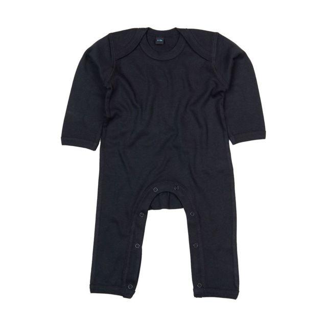 Babybugz - Barboteuse body bébé jambes manches longues - Bz13 - noir ... bcc5e106fde