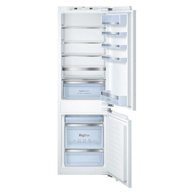 Bosch réfrigérateur combiné intégrable 268l a++ - kis86af30