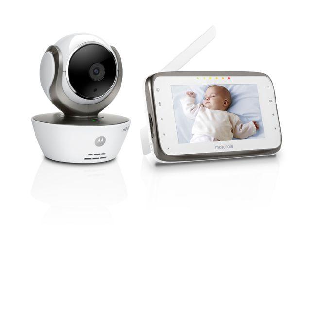MOTOROLA Moniteur bébé vidéo wifi avec écran 4,4