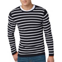 Tom Tailor - Pull Striped Sweater With Structure