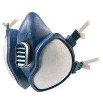 3 M - Demi-masque Respiratoire Antigaz