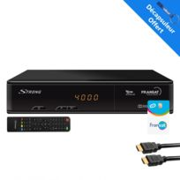 Strong - récepteur Tv satellite Hd + Carte Viaccess Fransat Pc6 + Câble Hdmi 2M