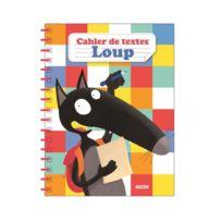 Editions Auzou - Cahier de textes : Loup
