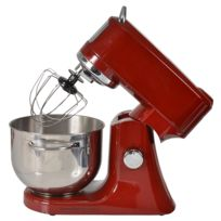 KITCHEN CHEF - robot multifonctions 4.7l 1000w rouge - ef706 rouge